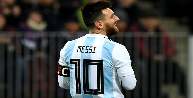 Messi Absent From Argentina Friendly Against Spain