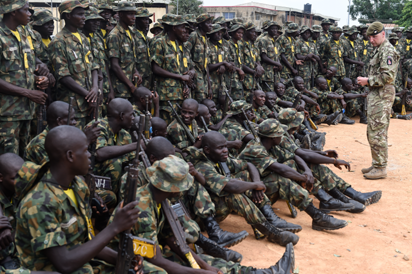 Army promotes 3,729 troops fighting Boko Haram in North East