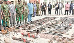 Nigerian army discover illegal gun factory in Benue state