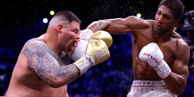 Anthony Joshua beats Andy Ruiz to win back world heavyweight titles